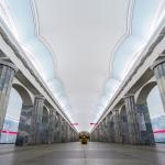 Baltiyskaya, Metro, St. Petersburg-2