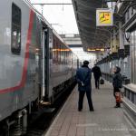 Zugbegleiter in Brest