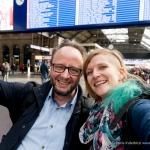 Zürich Hauptbahnhof mit Dominik