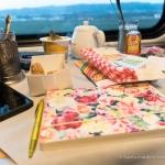 Stilleben im Zug