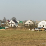 vorüberziehende Dörfer