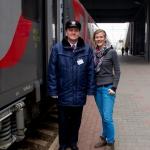 unser Zugbegleiter